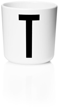 Design Letters Personal Melamine Cup - T