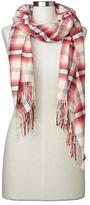 Gap Cozy modal holiday plaid scarf