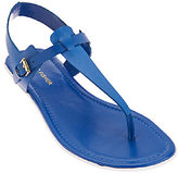 Marc Fisher Leather Sporty Thong Sandals - Anastasia