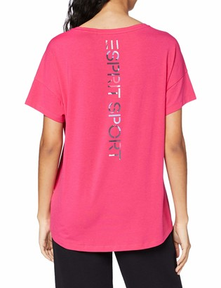 Esprit Women's ocs Tshirt Short-Sleeve Yoga Shirt