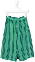 Bobo Choses striped skirt - kids - Linen/Flax/Viscose - 7 yrs
