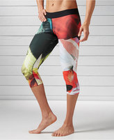 Reebok Printed Speedwick Capri Leggings