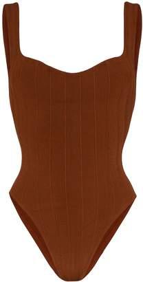 Hunza G Athena ribbed swimsuit