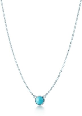 Tiffany & Co. Elsa Peretti Color by the Yard pendant in sterling silver with turquoise