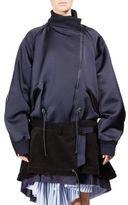 Sacai Silk Anorak Jacket