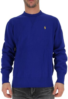 Polo Ralph Lauren Embroidered Logo Crew Neck Sweater