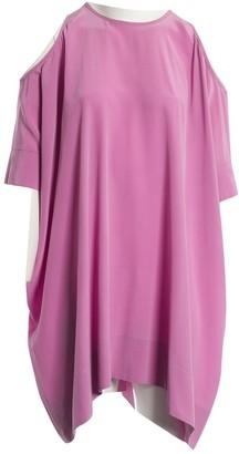 Richard Nicoll Purple Silk Dress for Women