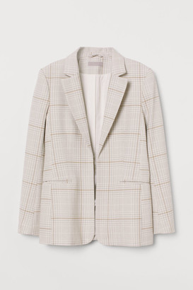 H&M Fitted Blazer - Gray