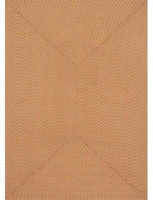 "Wrought Studioâ""¢ Daniell Hand-Braided Orange Area Rug Wrought Studioa Rug Size: Rectangle 2'3"" x 3'9"""