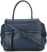 Tod's fold-over closure tote