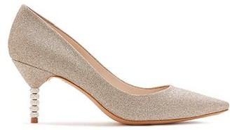 Sophia Webster Coco Crystal Mid-Heel Pump