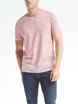 Banana Republic Heathered Soft-Wash Crew