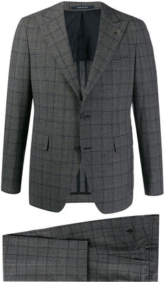 Tagliatore Check Patterned Suit