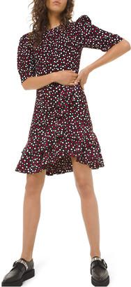 Michael Kors Sable Tiered Dress