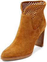 Diane von Furstenberg Jaen Perforated Suede Boot