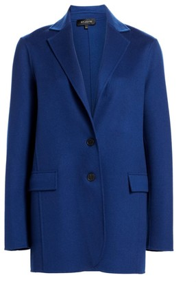 St. John Luxe Wool & Cashmere Double-Faced Jacket