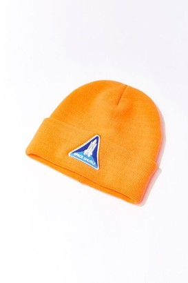 Forever 21 NASA Patch Graphic Beanie
