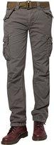 Schott Nyc Army Cargo Trousers Khaki