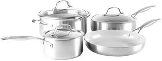 Green Pan Venice Pro 7-Piece Stainless Steel & Ceramic Cookware Set