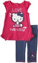 Hello Kitty Leggings Set (Baby/Toddler) - Antique Fuchsia-24 Months