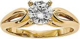 MODERN BRIDE 1 CT. Diamond 14K Yellow Gold Solitaire Ring