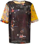 Pierre Louis Mascia Pierre-Louis Mascia - Stich T-shirt - women - Cotton - L
