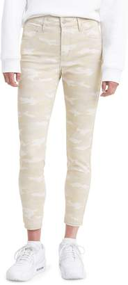 Levi's 720 High-Rise Super Skinny Cropped Jeans