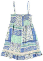 O'Neill Tina Patchwork Print Smocked Sundress (Big Girls)