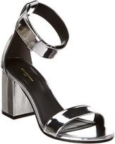 Balenciaga Ville Metallic Patent Sandal