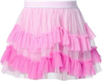 Truly Me Kids' Ombre Tiered Tutu Skirt