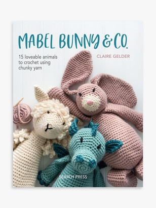 Search Press Mabel The Bunny & Co. Crochet Project Book