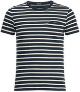 A.p.c. Mousse Tshirt - Dark Navy