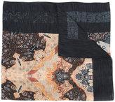 Etro multi-print scarf - men - Silk/Cotton - One Size