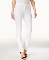 Alfani Petite Rivet-Detail Skinny Pants, Created for Macy's