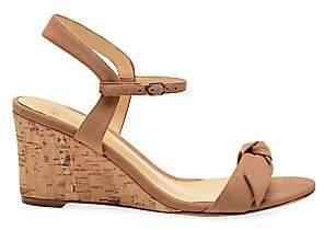 Alexandre Birman Women's Noelle Suede Slingback Wedge Sandals
