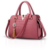NICOLE&DORIS Fashion Women Handbag Crossbody Shoulder Bag Satchel Purse PU Leather