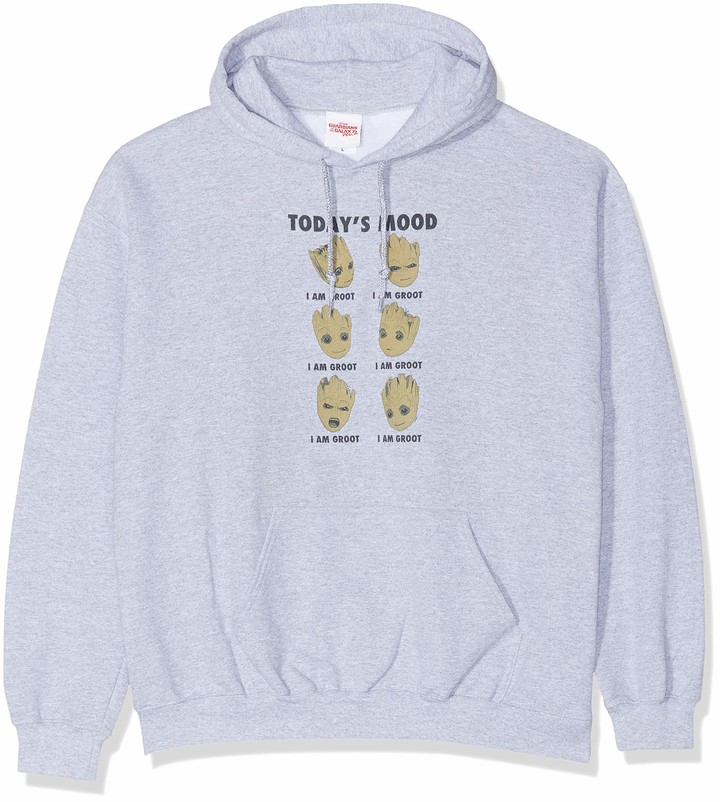 Thumbnail for your product : Marvel Women's Guardians of The Galaxy Vol 2 Groot Today's Mood Hoodie