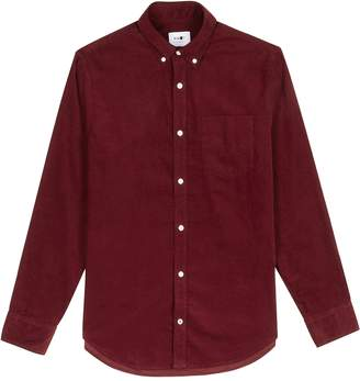 NN07 Bordeaux Corduroy Shirt