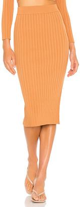 Mason by Michelle Mason Rib Skirt