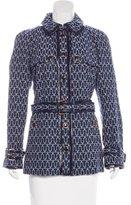 Tory Burch Printed Short Coat