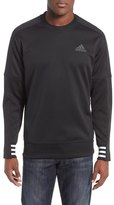adidas Regular Fit Sport ID Bonded Fleece Crewneck Shirt
