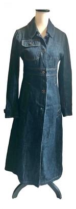 Miu Miu Blue Denim - Jeans Coats