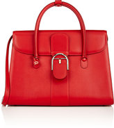Delvaux Women's Brillant Double-Handle Satchel-RED