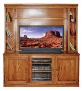 Loon Peak Beleora Solid Wood Entertainment Center for TVs up to 55 inches Loon Peak Color: Antique Alder