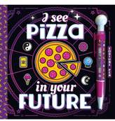 FINE PRINT PUBLISHING 'I See Pizza in Your Future' Activity Book & Pen Set