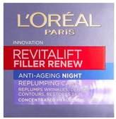 L'Oreal L Oreal Paris Revitalift Filler Renew Night Cream 50ml