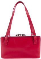 Escada Leather Box Bag