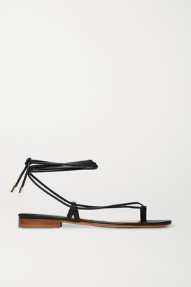 Emme Parsons Ava Leather Sandals - Black