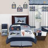 Sweet Jojo Designs Ocean Blue Bedding