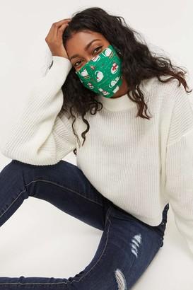 Ardene Meowy Christmas Reusable Face Covering